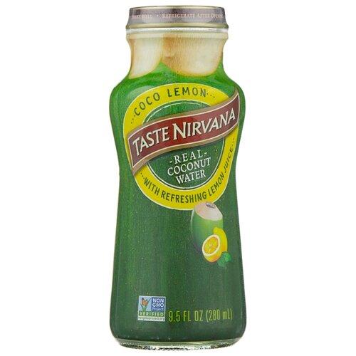 Вода кокосовая Taste Nirvana с соком лимона, 0.28 л nirvana nirvana кеды синие на танкетке женские 1655 blue