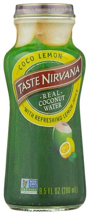 Вода кокосовая Taste Nirvana с соком лимона
