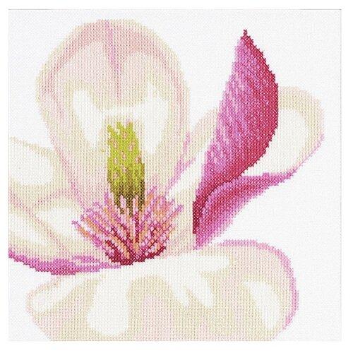 Купить Lanarte Набор для вышивания Цветок магнолии 20 х 20 см (PN-0008163), Наборы для вышивания
