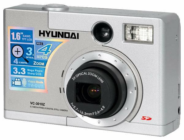 Фотоаппарат Hyundai VC-3010Z