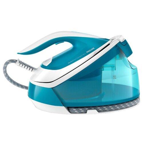Парогенератор Philips GC7920/20 PerfectCare Compact Plus синий/белый