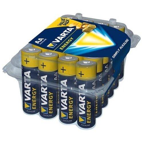 Фото - Батарейка VARTA ENERGY AA, 24 шт. батарейка energizer max plus aa 4 шт