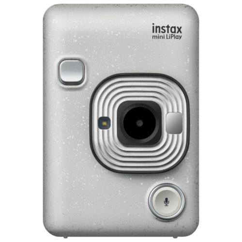 Фотоаппарат моментальной печати Fujifilm Instax Mini LiPlay stone white фотоаппарат instax mini liplay blush gold
