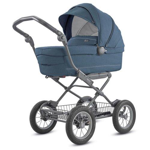 Купить Коляска для новорожденных Inglesina Sofia 2018 (люлька, шасси Ergo bike) artic blue, Коляски