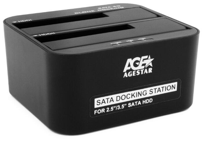 Док-станция для HDD/SSD AGESTAR 3UBT6-6G