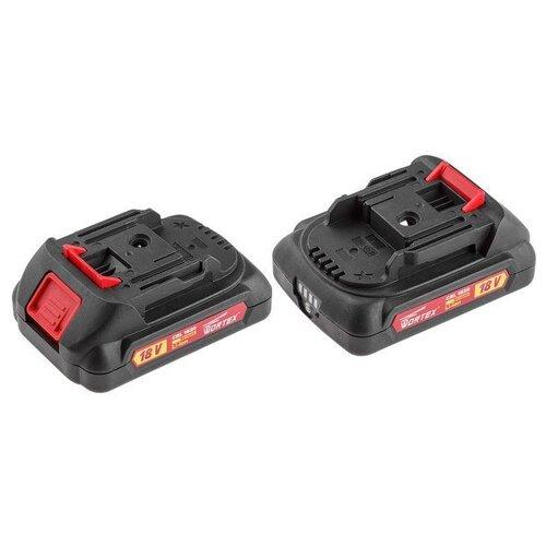 Аккумулятор WORTEX CBL 1820 18.0 В, 2.0 А/ч, Li-Ion ALL1 (18.0 В, 2.0 А/ч, индикатор заряда) (CBL18200029)