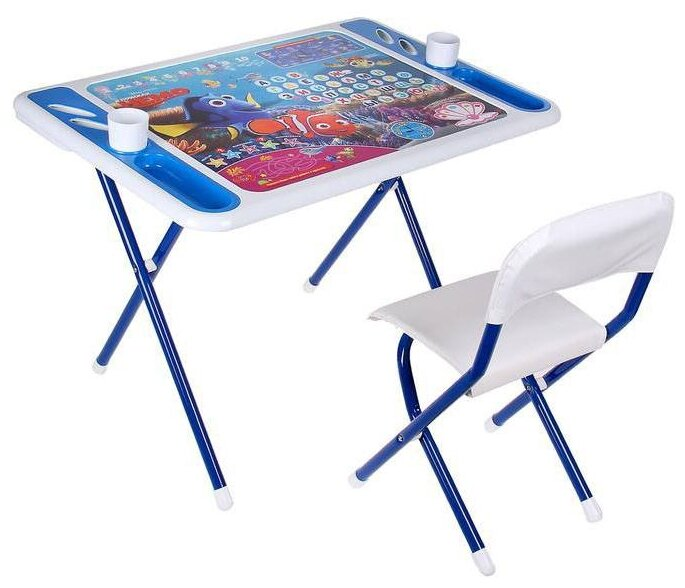 Комплект ДЭМИ стол + стул Damibaby evro В поисках Немо