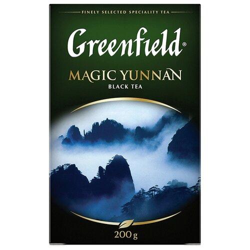 Чай черный Greenfield Magic Yunnan, 200 г чай черный greenfield magic yunnan 25 пакетиков