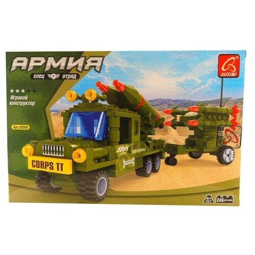 Купить Конструктор Ausini Армия 22505, Конструкторы