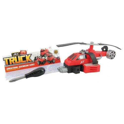 Купить Винтовой конструктор JRX Truck 72276 Пожарный вертолет, Конструкторы