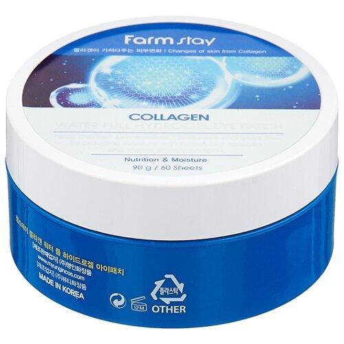 Купить Farmstay Патчи для глаз Collagen Water full hydrogel eye patch 90 г (60 шт.)