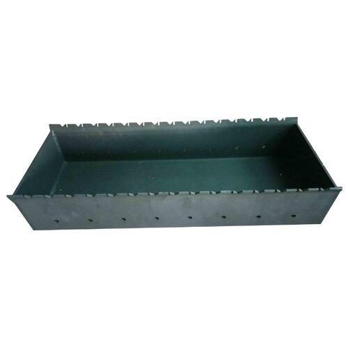 Мангал ПСГ ЧМ 800, 80x30x10.5 см, на 15 шампуров