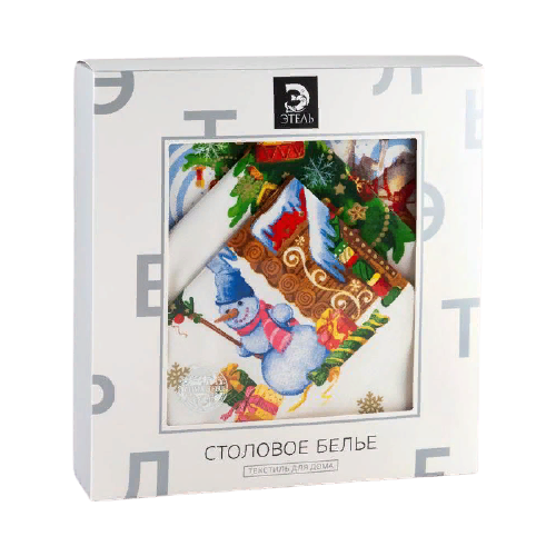 Комплект Этель Новогодняя сказка 1534783, белый