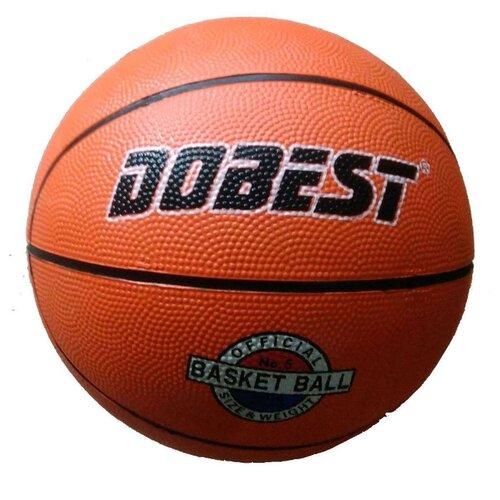 Баскетбольный мяч Dobest RB5, р. 5 оранжевыйМячи<br>