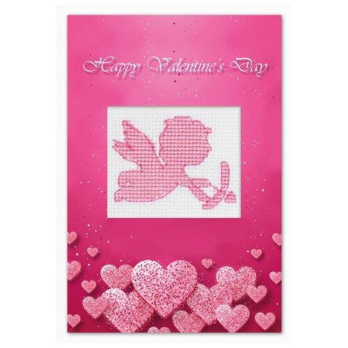 Купить Набор для изготовления открытки Валентинка LUCA-S (S)P-75, Наборы для вышивания