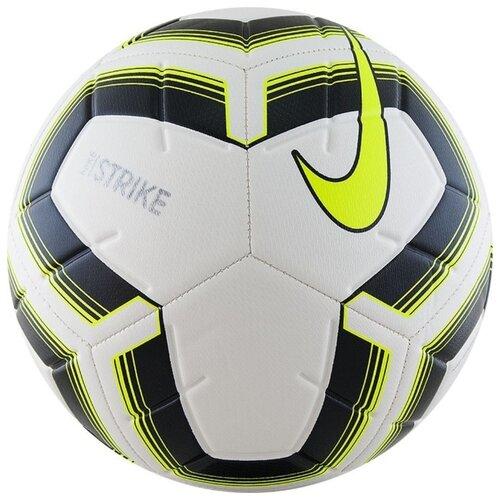 Футбольный мяч NIKE Strike Team SC3535 белый/черный/салатовый 4 футбольный мяч nike strike pro team fifa sc3539 101