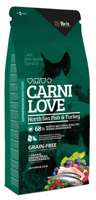 Корм для собак Carnilove Carnilove North Sea Fish & Turkey for adult dogs (12 кг)