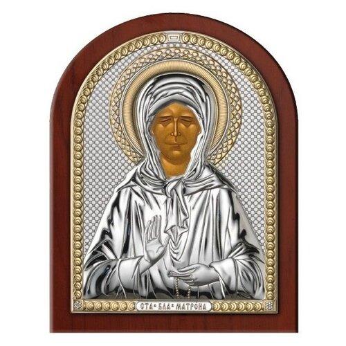 Икона Святая Матрона Московская 84440, 8х11 см икона valenti георгий победоносец 84260 8х11 см