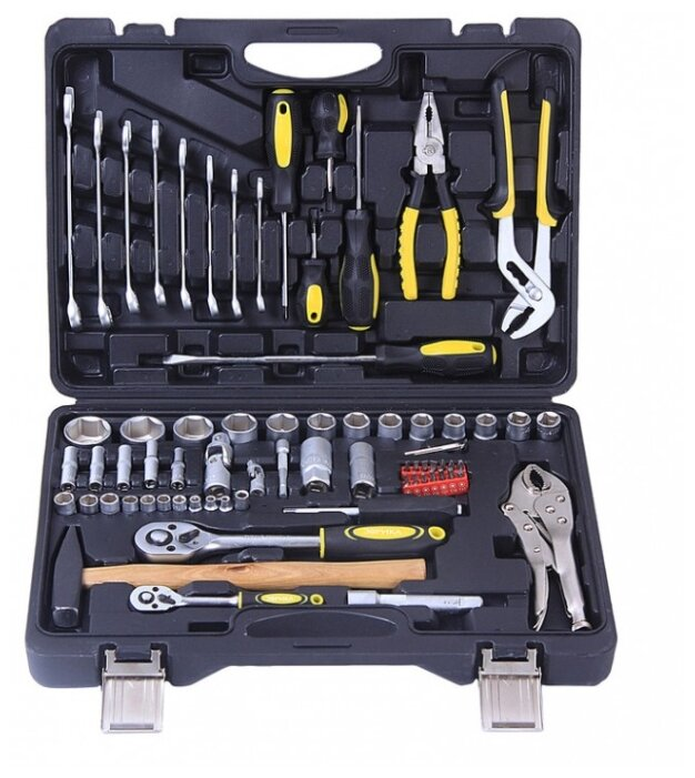 Набор инструментов Эврика ER-TK72, 72 предм. — купить по выгодной цене на Яндекс.Маркете
