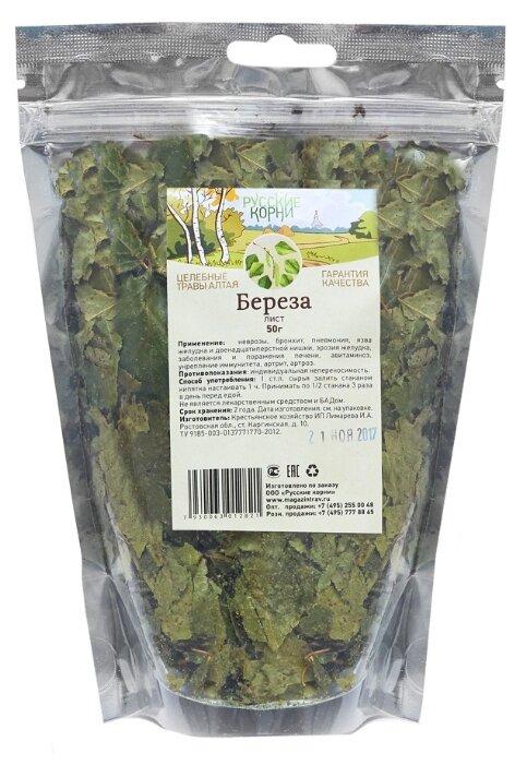 Русские корни листья Береза 50 г
