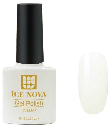 Гель лак ICE NOVA Gel Polish, 10 мл