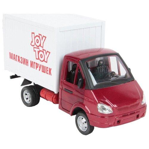 развивающие игрушки play smart умный утёнок Фургон Play Smart Газель Игрушки (Р40519) 24 см красный/белый
