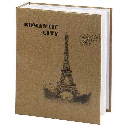 Фотоальбом BRAUBERG Париж (391122), 200 фото, для формата 10 х 15, бежевый
