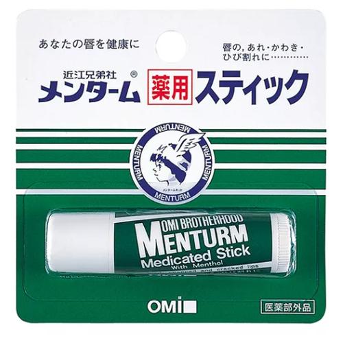 Omi Brotherhood Бальзам для губ Menturm medicated stick