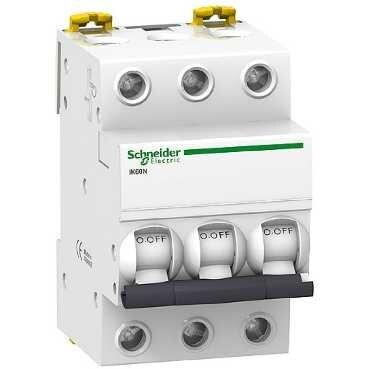 Автоматический выключатель Schneider Electric Acti 9 iK60 3P (C) 6kA