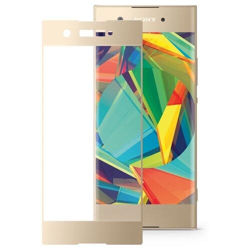 Защитное стекло Mobius 3D Full Cover Premium Tempered Glass для Sony Xperia XA1 золотистый защитное стекло mobius 3d full cover premium tempered glass для sony xperia xz2 premium черный