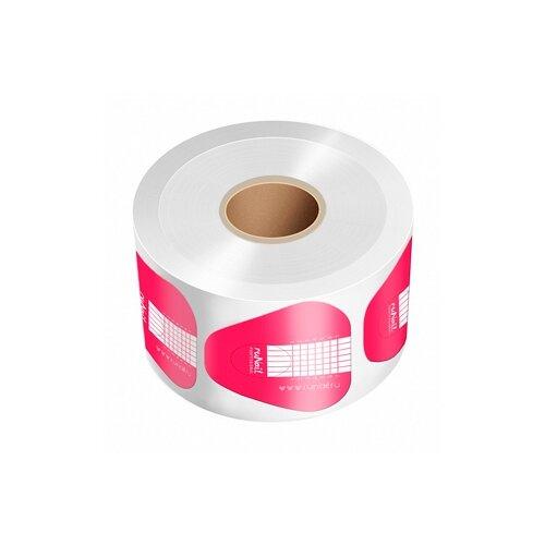 Купить Формы для наращивания Runail Professional одноразовые широкие розовые 500 шт.