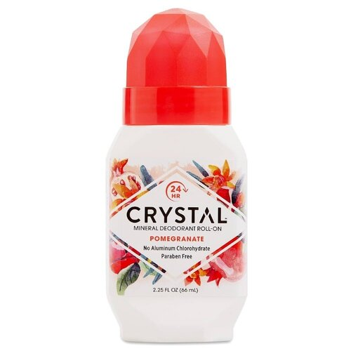 Crystal дезодорант, ролик, Pomegranate (roll-on), 66 мл дезодорант ролик spirial roll on дезодорант ролик 50мл