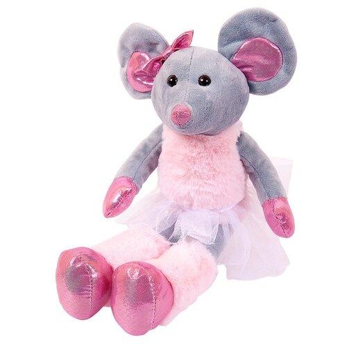 Мягкая игрушка ABtoys Мышка в юбке 30 см