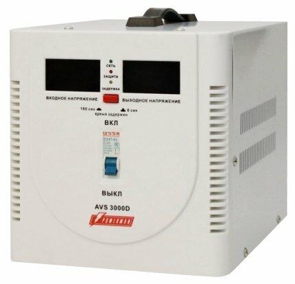 Стабилизатор напряжения однофазный Powerman AVS 3000D