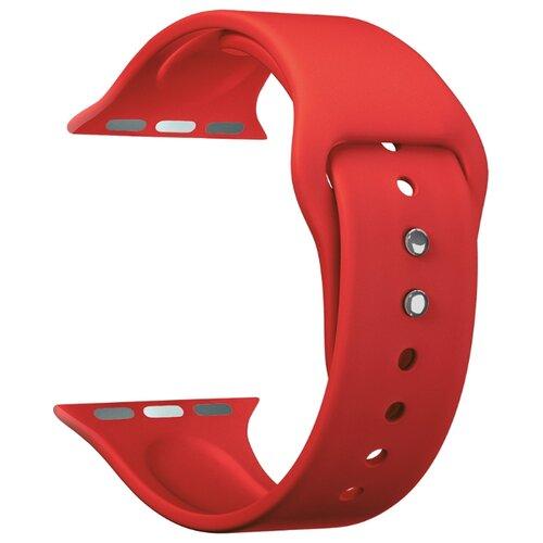 Фото - Lyambda Силиконовый ремешок Altair для Apple Watch 42/44 mm red lyambda силиконовый ремешок alcor для apple watch 42 44 mm green