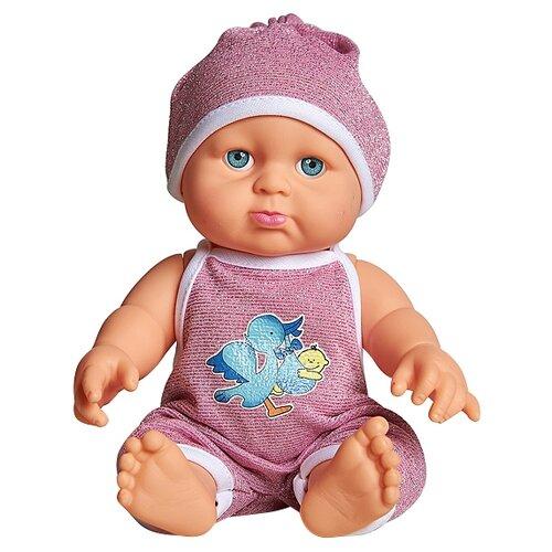 Пупс Cuddly baby в розовом комбинезоне, XM634/2Куклы и пупсы<br>