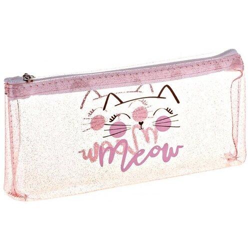 Купить ArtSpace Пенал Meow (Tn_19769) розовый, Пеналы