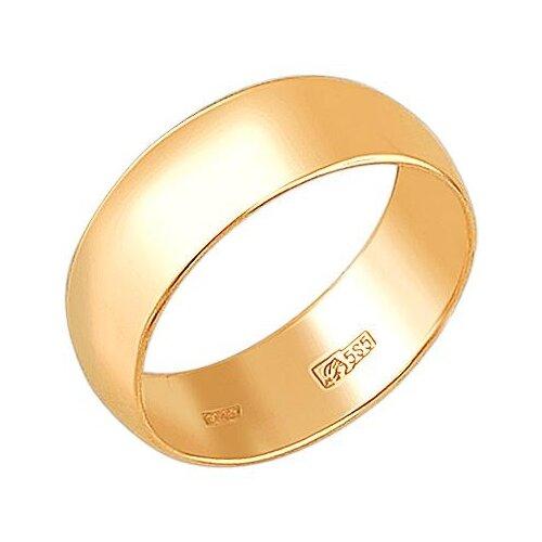Эстет Кольцо из красного золота 01О010386, размер 15.5 ЭСТЕТ