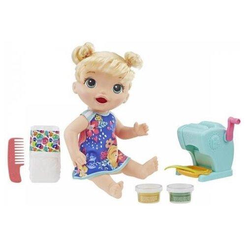 Интерактивная кукла Hasbro Baby Alive Малышка и макароны, 35,6 см, E3694ES0