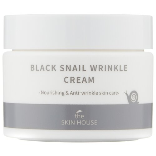 The Skin House Black Snail Wrinkle Cream Крем для лица, 50 мл the skin house зеленая глиняная маска для сужения пор pore tightening clay pack 100 мл