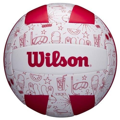 Волейбольный мяч Wilson Seasonal белый/красный