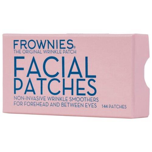 Frownies FBE пластыри от морщин на лбу и переносице, 144 шт. кремы от морщин на лбу