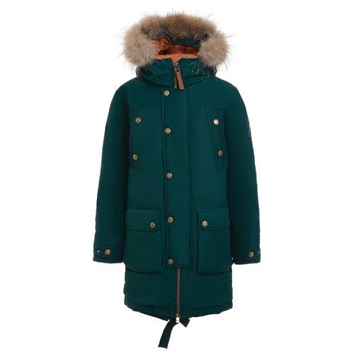 Купить Полупальто Gulliver размер 146, зеленый, Пальто и плащи