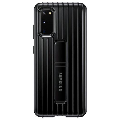 Чехол Samsung EF-RG980 для Samsung Galaxy S20, Galaxy S20 5G черный чехол samsung ef aj530 для samsung galaxy j5 2017 черный