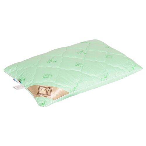 цена Подушка АльВиТек Токатта Люкс Бамбук (ПГЛБ-Л-4060) 40 х 60 см зеленый онлайн в 2017 году