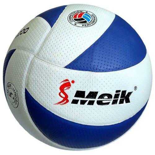 Волейбольный мяч Meik 200 бело-синий