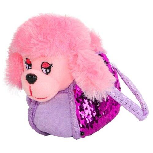 Фото - Мягкая игрушка Пушистые друзья Собачка в розовой сумочке с пайетками 19 см кмит елена пушистые друзья барашек бяша