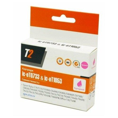 Фото - Картридж T2 IC-ET0733/IC-ET1053, совместимый мешок для пылесоса ozone xt 308