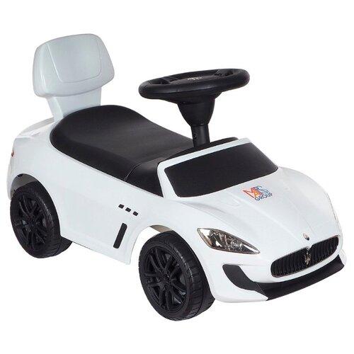 Купить Каталка-толокар Chi lok BO Maserati (353) со звуковыми эффектами белый, Каталки и качалки
