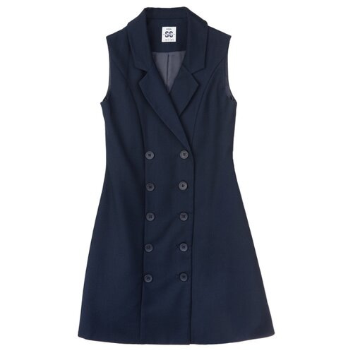 Купить Платье playToday размер 122, темно-синий, Платья и сарафаны